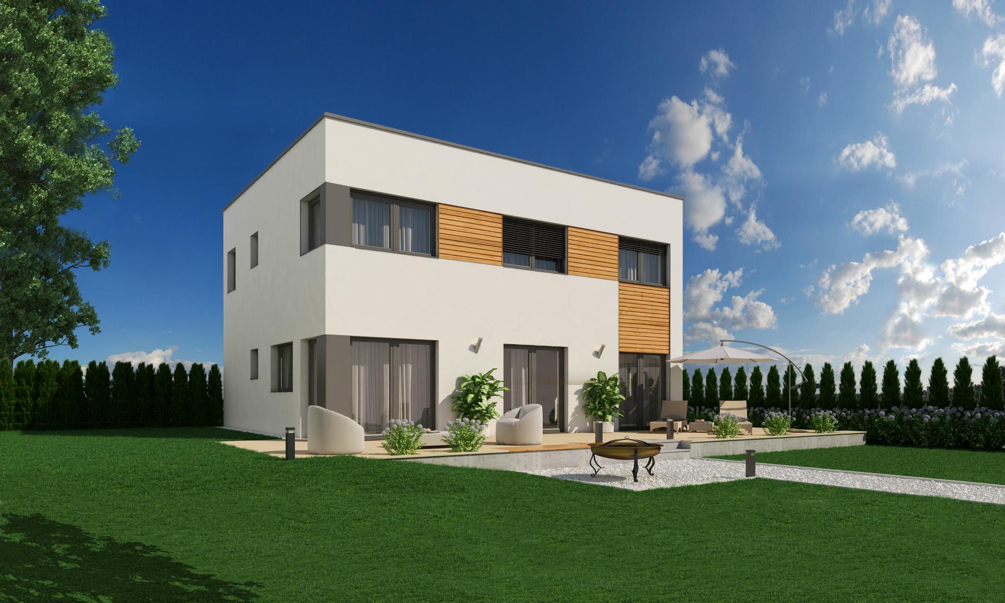 Haas Solana 150 Passivhaus Flachdach