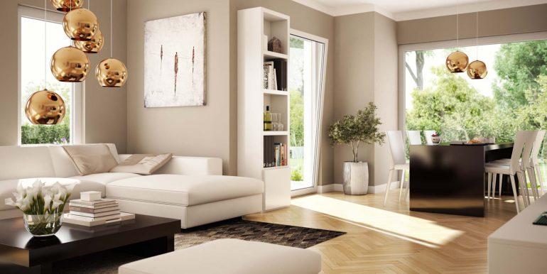 livinghaus solution 087 V5 wohnzimmer