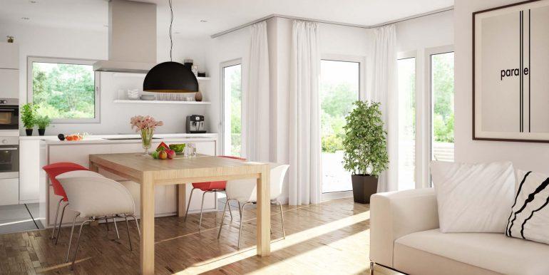 livinghaus sunshine 125 wohnkueche
