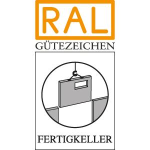 RAL Gütezeichen - Fertigkeller